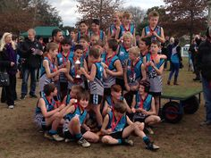 Grand Final was won by Lysterfield 8.7(55) V East Ringwood 0.1(1)