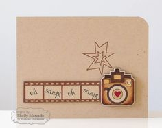 Oh Snap Card by Shelly Mercado #Cardmaking