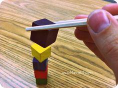 How to Make Kiddie Chopsticks