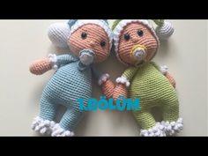 Amigurumi (leg, torso) # making # # # - Crotchet Patterns, Amigurumi Patterns, Amigurumi Doll, Doll Patterns, Baby Toys, Kids Toys, Crochet For Kids, Crochet Baby, Youtube Dolls