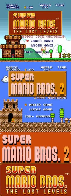 #RetroGamer #SuperMario The Lost Levels is the original #SuperMaroBros. 2 for some gamers!  http://www.levelgamingground.com/super-mario-bros-lost-levels-review.html
