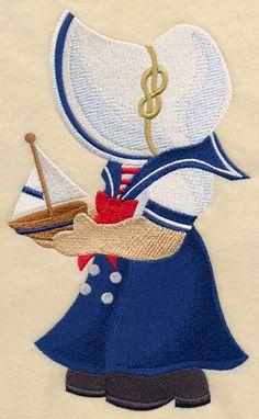 Sunbonnet Sue the Sailor