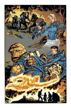 All New All Different Fantastic Four by Chris Samnee *