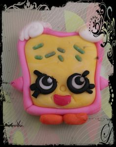 Shopkins Cake Toppers, Sugar, Cookies, Desserts, Food, Tailgate Desserts, Biscuits, Deserts, Essen