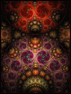 25 Colorful Fractal Art Images For Your Inspiration Fractal Design, Fractal Art, Art Web, Psy Art, Fractal Patterns, Psychedelic Art, Psychedelic Experience, Sacred Geometry, Belle Photo