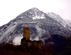 château de la Bâtiaz - Martigny - Suisse. (photo by Mistabys)