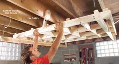 How to make a DIY cutting rack for plywood.