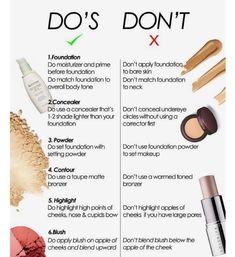 - make up & style - . - (notitle) – make up & style – - Make Up Kits, Makeup Guide, Makeup Hacks, Makeup Basics, Makeup Ideas, Contour Makeup, Eye Makeup, Oily Skin Makeup, Face Contouring