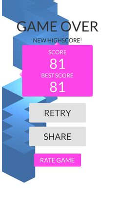 OMG!Imade 81 zigzags playing #ZigZag https://itunes.apple.com/app/id951364656