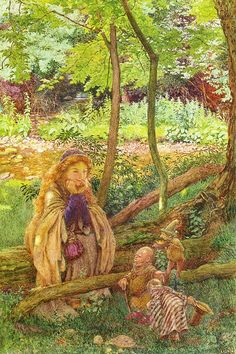 "Eleanor Fortescue-Brickdale (1872-1945), ""The introduction"""