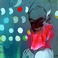lone seeberg 2008 Modern Art, Contemporary Art, Blue City, Lonely, Graphic Art, Imagination, Artist, Artwork, Blues