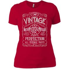 Vintage Aged To Perfection 1994 - 24th Birthday Gift T-shirt #birthdaygifts