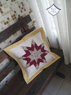 Almofada em patchwork