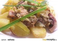 Králík se šlehačkou a bramborem recept - TopRecepty.cz Food And Drink, Beef, Meat, Ox, Ground Beef, Steak