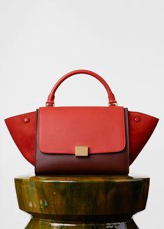 celine luggage tote handbags - Micro Luggage Handbag in Multicolour Bullhide - Winter | C��LINE ...
