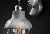 M422 - concrete lamp