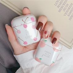 Cute Cases, Cute Phone Cases, Iphone Phone Cases, Phone Covers, Fone Apple, Airpods Apple, Accessoires Iphone, Aesthetic Phone Case, Earphone Case
