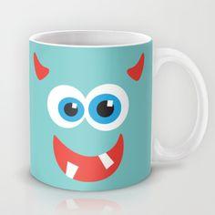 Horny+blue+monster+Mug+by+Freewheeler+-+$15.00