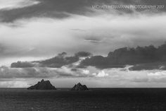 Clouds over Skelligs at the coast Wild Atlantic Way, Coast, Clouds, Explore, Outdoor, Outdoors, Outdoor Games, The Great Outdoors, Seaside
