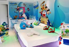 Hotel del Juguete, en Alicante Hotel Familiar, Toddler Bed, Alicante, Furniture, Doraemon, Home Decor, Travelling, Family Vacations, Kids