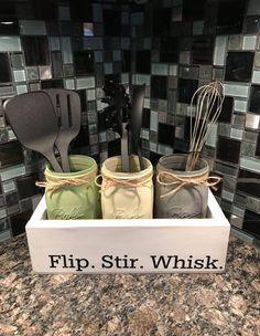 Flip. Stir. Whisk. Mason jar combo for cooking