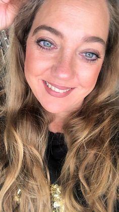 Back to you Beauty wearing Laura Geller QVCUK TSV October 2020 Kajal Eyeliner, Baked Blush, Glow Foundation, Subtle Highlights, Dark Skin Tone, Laura Geller, Pink Grapefruit, Long Lashes, Color Blending