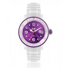 Montre ICE-WATCH ICE WHITE violet - Ice Watch