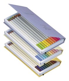 Amazon.com: Tombow Irojiten Color Dictionary Color Wooden Pencil Set - 30 Color Set (Tones: Fluorescent Very Pale & Dull I): Office Products