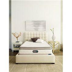 Simmons Beautyrest TruEnergy Zoe Queen Ultra Plush Pillow Top Mattress And  Foundation   Miller Brothers Furniture