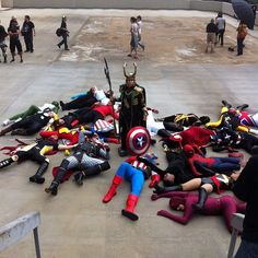 DragonCon Massacre - LOKI'D. Ugh I'm so jealous of my friend going to DragonCon >.> Curse his sudden but inevitable betrayal!