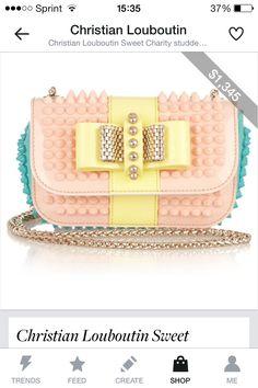 Christian loubitton purse