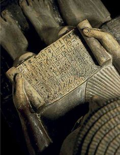 The hieroglyphic inscription lists offerings, with much detail about type and quantity, including food, beverages, unguents and liquids, incense and cosmetics, funerary equipment and royal gifts....