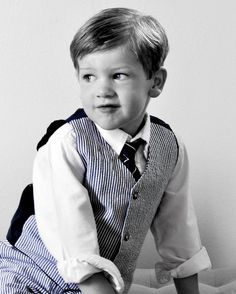 Cute kid photos Little boy dress up