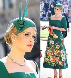 Lady Kitty Spencer wears @dolcegabbana Alta Moda green corset dress made of wool-crepe with hand-painted floral motifs matched with orange shoes and bag in velvet for the wedding ceremony      #styleblogger #styleinspo #fashionblogger #womensfashion #casuallook #casualstyle #casualwear #fashioninspo #outfitinspo #springfashion #springoutfit #outfitoftheday #springstyle #todaysoutfit #celebrityinspired  #fashionista #outfitideas #summerfashion #summerstyle #summeroutfit #kittyspencer…
