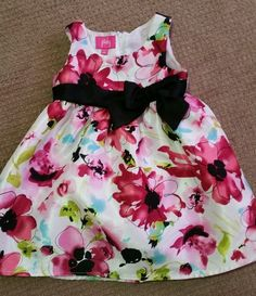 Baby Girl Floral Dress 18mths in Clothing, Shoes & Accessories | eBay $6 + Free U.S Shipping