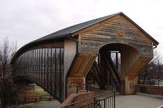 Old Salem Heritage Bridge, Winston-Salem