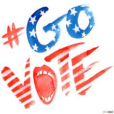 Creative Type, Govote, Karen, and Kurycki image ideas & inspiration on Designspiration Get Out The Vote, Rock The Vote, Student Council Posters, Painted Rocks, Hand Painted, Voting Today, Early Voting, Election Day, Hilarious Pictures