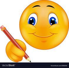 Illustration about Illustration of Emoticon writing isolated on white. Illustration of writing, cute, head - 46948997 Smileys, Funny Emoticons, Smiley Emoji, Emoji Faces, Smiley Faces, Stickers Emojis, Allah Love, Lovely Smile, Subway Art