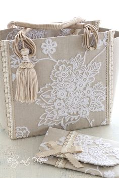 Lace Bag, Ethno Style, Burlap Fabric, Embroidered Bag, Jute Bags, Unique Bags, Patchwork Bags, Denim Bag, Fabric Bags