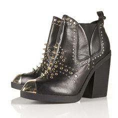AGGRO Gold Studded Ankle Boots discovered on Fantasy Shopper Studded Ankle Boots, Black Ankle Boots, Riding Boots, Combat Boots, Topshop Boots, Best Winter Boots, Ugg Classic Short, New Shoes, Fashion Advice
