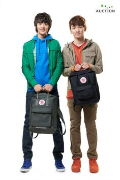 Minho & Key(both from SHINee).  A commercial image for Korean auciton site @2011