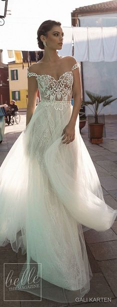 Gali Karten Wedding Dress 2018 - Burano Bridal Collection #weddingdress #bridalgown #weddingdresses #weddinggowns