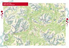 Cortina dAmpezzo Hiking Map - Cortina d039Ampezzo Italy • mappery