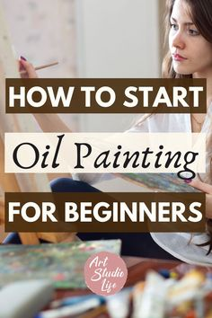 Found this oil painting for beginners getting started guide really helpful for me to get going! Been wanting to learn how to oil paint but it's tough when you don't know anything about it... So… More