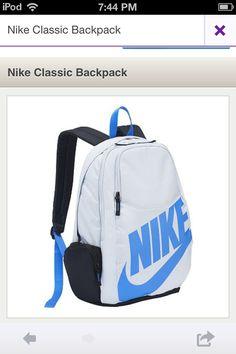 b6009cf5a575 Nike Backpack! Nike Workout Gear