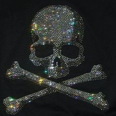 Bling Skull & Crossbones