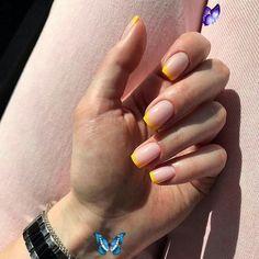 <br> Purple Nail, Nails Yellow, Nails Gelish, Shellac Nail Colors, Gel Nails, Nail Nail, Glitter Nails, White Summer Nails, Summer Nails Neon