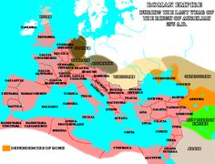 Roman Empire during the last year of the reign of Aurelian, 275CE