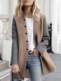 A chic and styled outerwear can make you look different and unique. Shop the latest fashion trend and choose your favorite Coats or Jackets from Novashe online fashion store. Casual Outfits, Fashion Outfits, Fashion Tips, Fashion Trends, Ladies Fashion, Women's Fashion, Feminine Fashion, Fashion Websites, Street Fashion