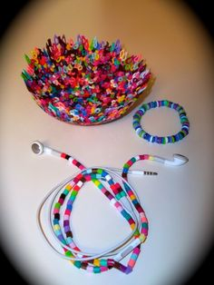 Perler beads are a fun an inexpensive way to craft. Using these easy to follow instructions and photos, you'll be able to make 3 different craft projects that are perfect crafts for adults and older children. You'll love making your very own Perler Bead Bowl, Melted Perler Bead Bracelet and Perler Bead Earbud Covers.